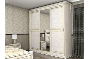 Шкаф книжный Верди 137 - Мебельная фабрика «Фабрика натуральной мебели»