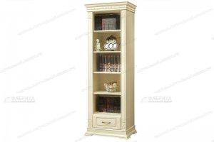 Шкаф книжный Верди 145 - Мебельная фабрика «Фабрика натуральной мебели»