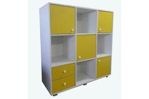 Шкаф стеллаж комбинированный детский - Мебельная фабрика «Mebel_Club73»