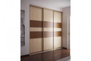 Шкаф Кремовый ротанг - Изготовление мебели на заказ «Кухни и шкафы М:32»