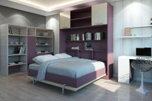 Шкаф-кровать Горизонталь 2 - Мебельная фабрика «ГЕЛИОН»