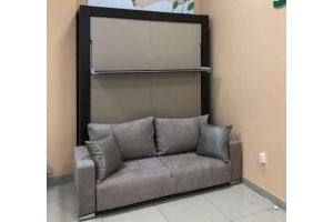 Шкаф-кровать Prime серый - Мебельная фабрика «Диван Диваныч»