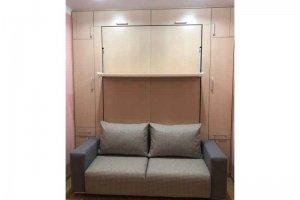 Шкаф-кровать Prime темный - Мебельная фабрика «Диван Диваныч»