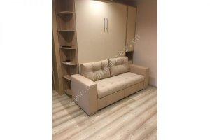 Шкаф-кровать с диваном Бела 15 - Мебельная фабрика «Деталь Мастер»