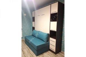 Шкаф-кровать с диваном Бела 16 - Мебельная фабрика «Деталь Мастер»