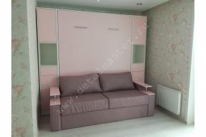Шкаф-кровать с диваном Бела 17 - Мебельная фабрика «Деталь Мастер»