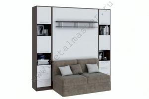 Шкаф-кровать с диваном Бела - Мебельная фабрика «Деталь Мастер»