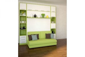 Шкаф-кровать с диваном Бела 6 - Мебельная фабрика «Деталь Мастер»