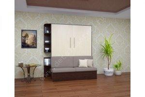 Шкаф-кровать-с диваном Бела 8 - Мебельная фабрика «Деталь Мастер»