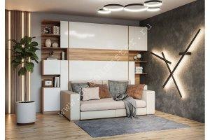 Шкаф-кровать с диваном Дина - Мебельная фабрика «Деталь Мастер»