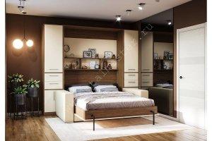 Шкаф-кровать с диваном Злата - Мебельная фабрика «Деталь Мастер»