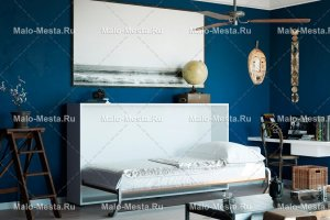 Шкаф-кровать Solo горизонтальная - Мебельная фабрика «SMARTI»