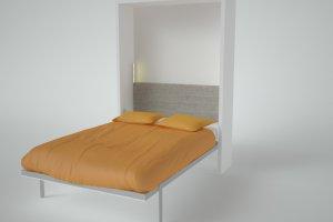 Шкаф-кровать SOLO ВЕРТИКАЛЬНАЯ Трансформер SMARTI - Мебельная фабрика «Anderssen»