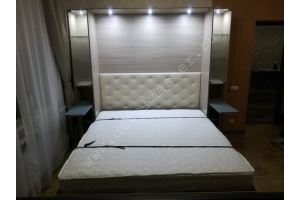 Шкаф-кровать светлый - Мебельная фабрика «Деталь Мастер»