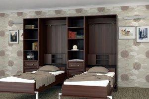 Шкаф-кровать трансформер - Мебельная фабрика «Анталь»