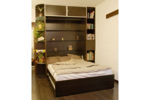Шкаф-кровать в комнату - Мебельная фабрика «Удобна»