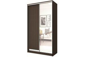 Шкаф-купе 2-х дверный с одним зеркалом - Мебельная фабрика «Купи-купе»
