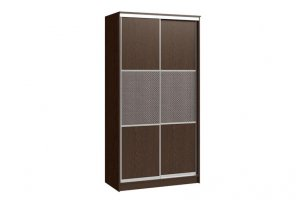 Шкаф-купе Версаль 2-х дверный (кожзам) - Мебельная фабрика «Континент»