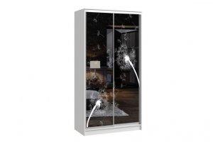 Шкаф-купе Версаль 2-х дверный (пескоструй) - Мебельная фабрика «Континент»