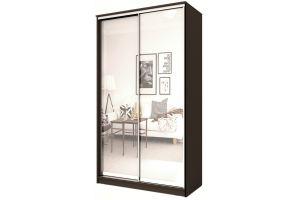 Шкаф-купе 2-х дверный с зеркалом - Мебельная фабрика «Купи-купе»