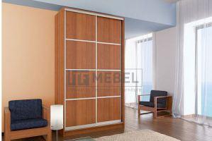 Шкаф купе 2-х дверный со вставками - Мебельная фабрика «ITF Mebel»
