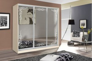 Шкаф-купе с зеркалом - Мебельная фабрика «ВиКо»