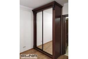 Шкаф-купе двустворчатый - Мебельная фабрика «Элна»
