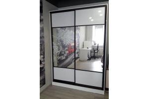 Шкаф-купе 2х дверный - Мебельная фабрика «Мебель Миру»