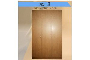 Шкаф распашной 3 - Мебельная фабрика «Мебель Шик»