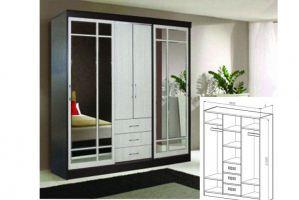 Шкаф-купе 3 - Мебельная фабрика «Лев Мебель»