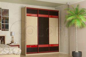 Шкаф-купе 3 фасада - Мебельная фабрика «Колорит»