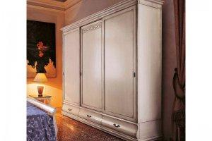 Шкаф-купе 3-х дверный Bianco anticano - Мебельная фабрика «Артим»