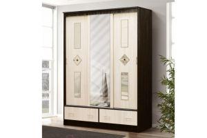 шкаф-купе 3-х дверный МИРАЖ-12  - Мебельная фабрика «Фант Мебель»