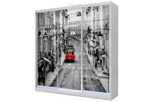 Шкаф-купе 3-х дверный с фотопечатью - Мебельная фабрика «Купи-купе»