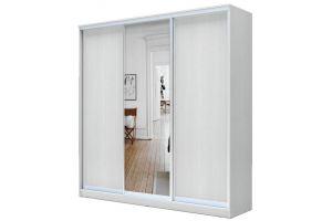 Шкаф-купе 3-х дверный с одним зеркалом - Мебельная фабрика «Купи-купе»