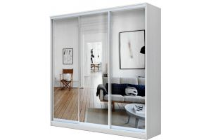 Шкаф-купе 3-х дверный с зеркалом - Мебельная фабрика «Купи-купе»