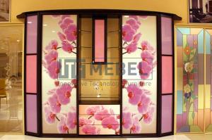Шкаф-купе 3-х дверный со вставками - Мебельная фабрика «ITF Mebel»