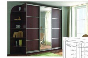 Шкаф-купе 4 - Мебельная фабрика «Лев Мебель»