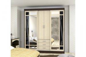 Шкаф-купе Адмирал 3 (люкс) - Мебельная фабрика «Мебель Тек»