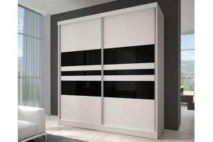Белый шкаф-купе Афина - Мебельная фабрика «Д.А.Р. Мебель»