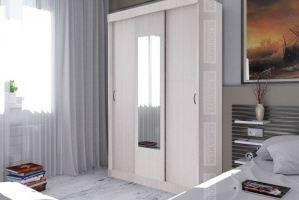 Шкаф-купе Бася в белом цвете - Мебельная фабрика «Вавилон58»