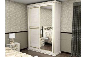 Шкаф-купе белый Lirona 610 - Мебельная фабрика «Фабрика натуральной мебели»