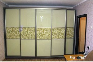 Шкаф-купе большой глянцевый - Мебельная фабрика «Арт-мебель»