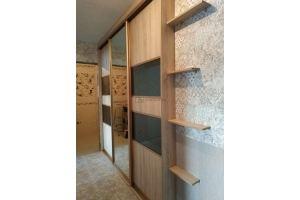 Шкаф-купе большой встроенный - Мебельная фабрика «Алгоритм»