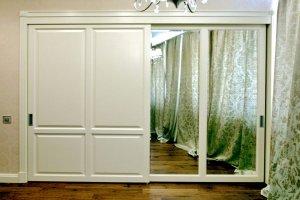 Шкаф-купе большой встроенный - Мебельная фабрика «Мебель Продакшн»