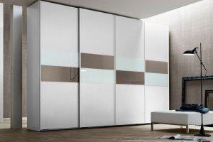Шкаф-купе четырехдверный Альба - Мебельная фабрика «LEVANTEMEBEL»