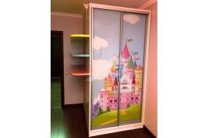 Шкаф-купе для девочки - Мебельная фабрика «Мастер-М»