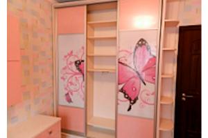 Шкаф-купе для девочки - Мебельная фабрика «Kupestil»