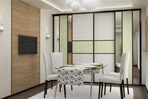 Шкаф-купе для кухни - Мебельная фабрика «Нижнетагильская мебельная фабрика»