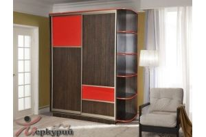 Шкаф-купе двухстворчатый 2 - Мебельная фабрика «Меркурий»